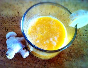 オレンジ&ジンジャースムージー